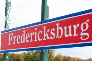 City of Fredericksburg Sign