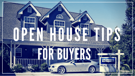 open houses tips for buyers