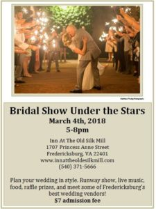 bridal show under the stars